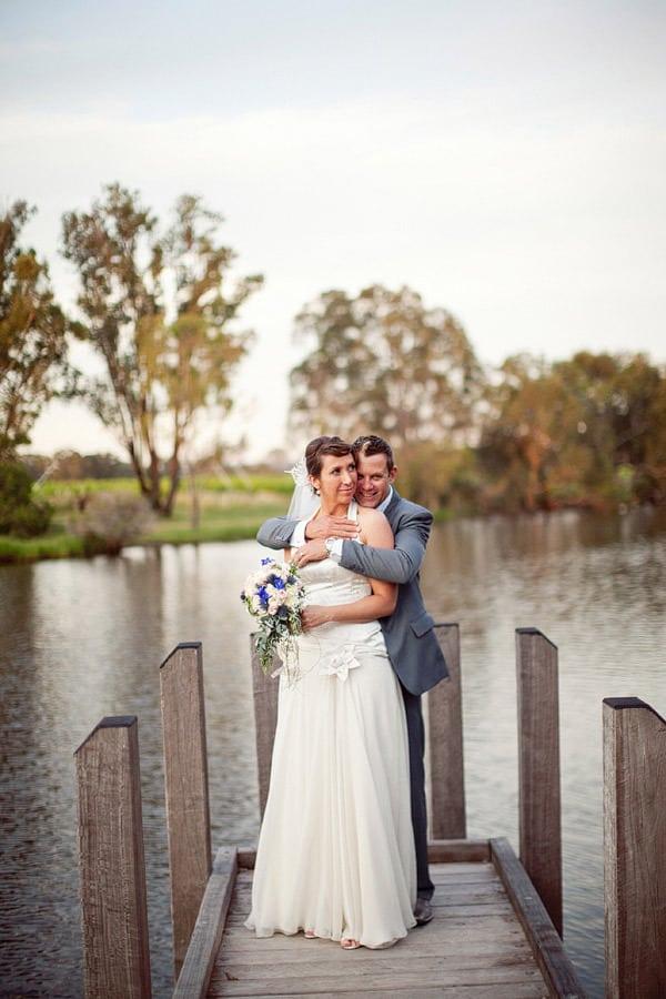 Rob and Marija on Swan River Jetty